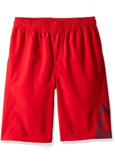 Under Armour Big Logo Volley Little Boys' Swim Shorts