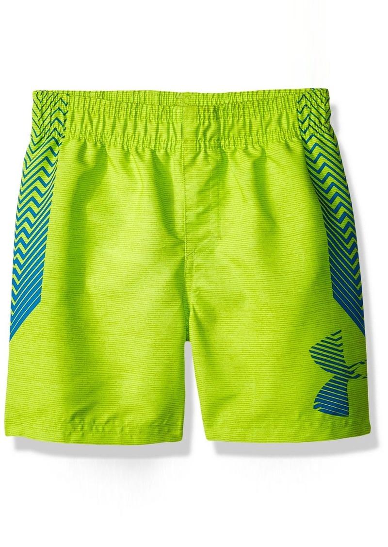 935f29827e Under Armour Under Armour Big Logo Volley Little Boys' Swim Shorts ...