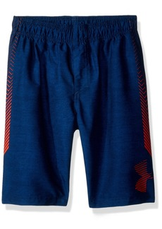 Under Armour Big Logo Volley Little Boys' Swim Shorts academy1
