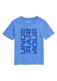 Under Armour Boxed Logo T-Shirt (Toddler Boys & Little Boys)