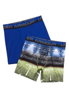 Under Armour Boxerjock® 2-Pack Performance HeatGear® Boxer Briefs (Big Boys)