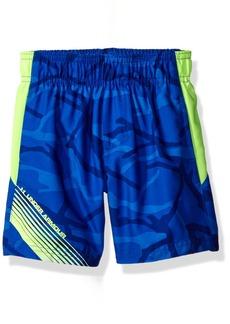 Under Armour Boys' Printed Volley Swim Shorts  24M