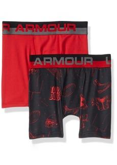 Under Armour Boys' Big 2 Pack Performance Boxer Briefs