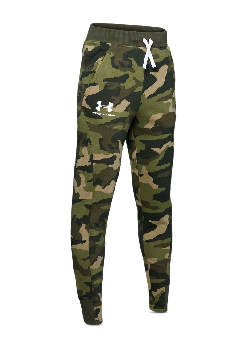 Under Armour Boys' Camo Print Jogger Pants - Big Kid