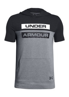 Under Armour Boy's Colorblock Short-Sleeve Hoodie