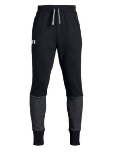 Under Armour Boy's Double-Knit Fleece Tapered Pants