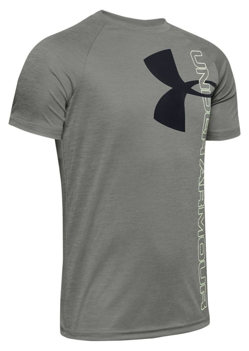 Under Armour Boy's Graphic Raglan-Sleeve Tee