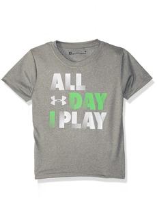 Under Armour Boys' Little Day I Play Short Sleeve T-Shirt