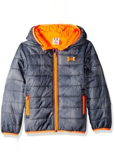 Under Armour Boys' Little Electro Feature Reversible Jacket