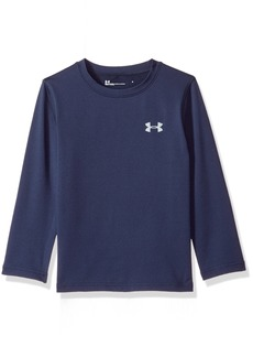 Under Armour Boys' Little Fitted Crew Neck
