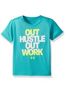 Under Armour Boys' Little Hustle Out Work Short Sleeve T-Shirt
