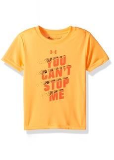 Under Armour Boys' Little Stop Me Short Sleeve T-Shirt