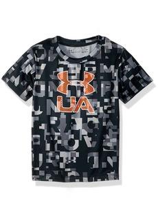 Under Armour Boys' Little Wordmark Ua Short Sleeve T-Shirt