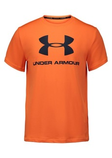 Under Armour Boy's Logo Crewneck Tee
