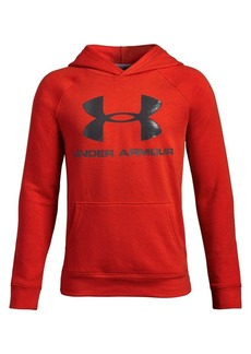 Under Armour Boy's Logo Graphic Fleece Hoodie
