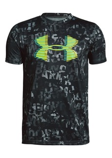 Under Armour Boy's Logo Short-Sleeve Tee