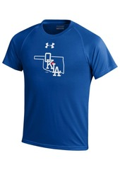 Under Armour Oklahoma City Dodgers ColorBlock T-Shirt, Big Boys (8-20)