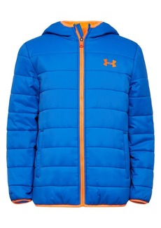 Under Armour Boy's Pronto Hooded Puffer Coat