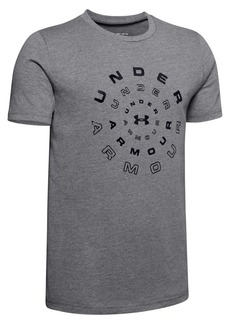 Under Armour Boy's Radial Logo Tee