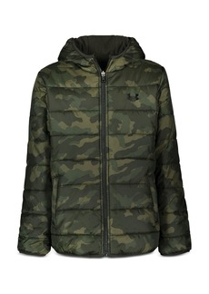 Under Armour Boys' Reversible Hooded Coat - Big Kid