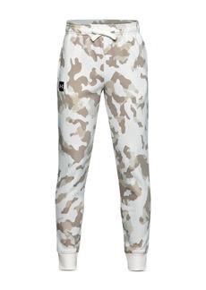 Under Armour Boys' Rival Fleece Camo Print Pants - Big Kid