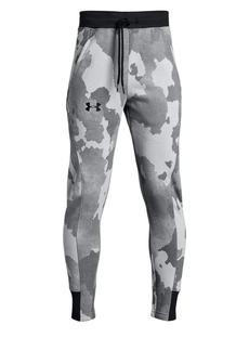 Under Armour Boy's Rival Printed Fleece Jogger Pants