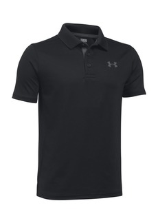 Under Armour Boy's Solid Play Polo
