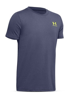 Under Armour Boys Sportstyle Logo Tee - Big Kid