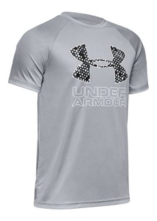 Under Armour Boy's Tech Hybrid Logo Tee