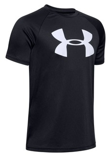 Under Armour Boy's Tech Logo Tee