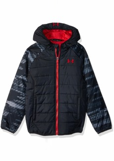 Under Armour Boys' Toddler Print Tuckerman Puffer Jacket