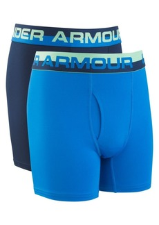 Under Armour Boy's Two-Pack Solid Performance Boxer Briefs