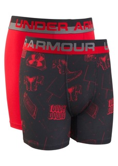 Under Armour Boy's Two-Pack Touchdown Boxer Briefs