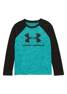 Under Armour Branded Raglan Shirt (Toddler Boys & Little Boys)