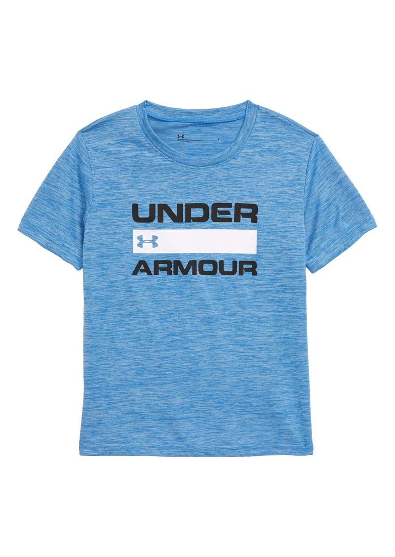 Under Armour Branded Twist HeatGear® Graphic T-Shirt (Toddler Boys & Little Boys)