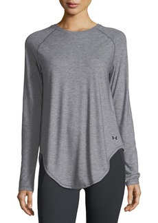 Under Armour Breathe Open-Back Long-Sleeve Shirt