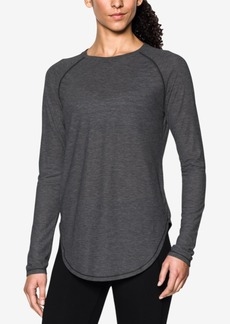 Under Armour Breathe Open-Back Long-Sleeve Top
