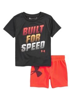 Under Armour Built for Speed HeatGear® Shirt & Shorts Set (Baby Boys)