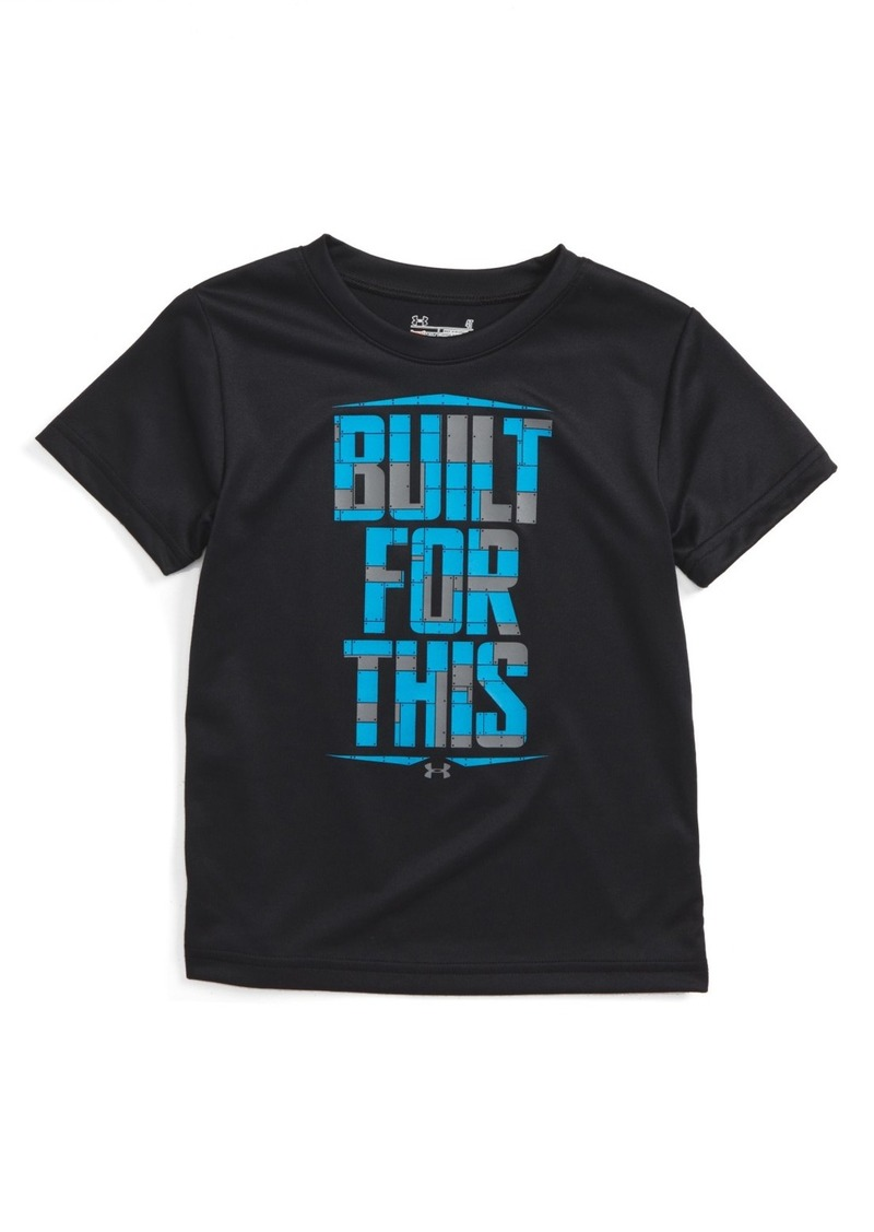 Under Armour Built for This Graphic HeatGear® T-Shirt (Toddler Boys)