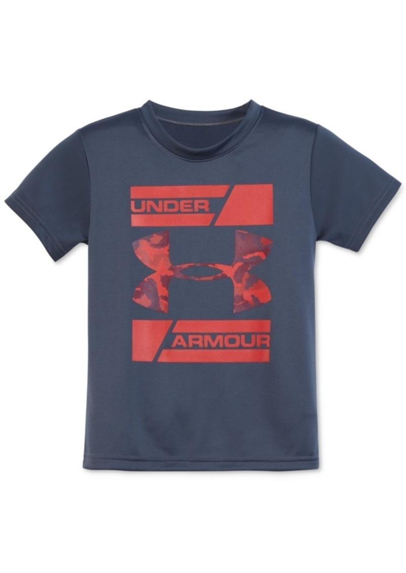 Under Armour Camo Branded Logo T-Shirt, Toddler & Little Boys (2T-7)