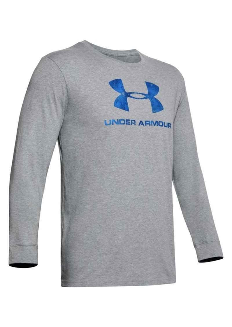 Under Armour Camo Logo Long-Sleeve Top