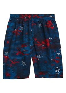 Under Armour Camo Stars Volley Shorts (Big Boy)