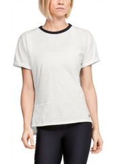Under Armour Women's Charged Cotton Ringer T-Shirt