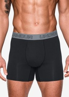 "Under Armour Charged Cotton Stretch 6"" Boxerjock 3-PackMen's Underwear"