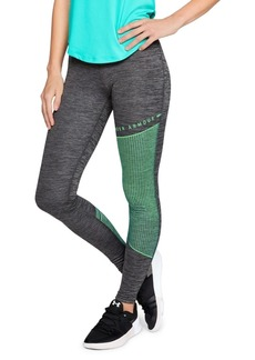 Under Armour Cold Gear Armour Block Graphic Leggings