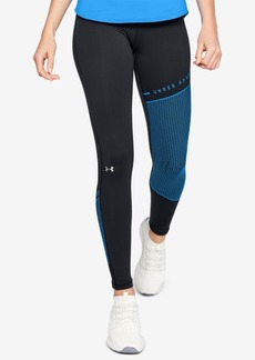 Under Armour ColdGear Colorblocked Fleece-Lined Leggings