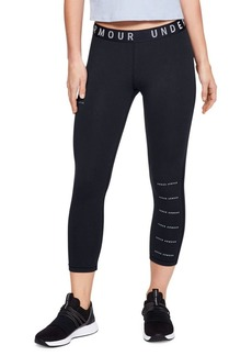 Under Armour Cropped Cotton Blend Leggings