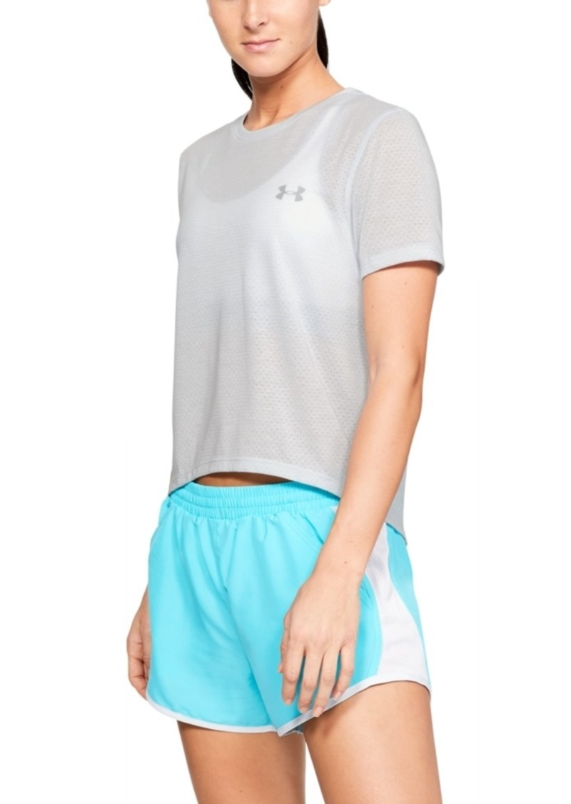 Under Armour Cropped Mesh Top