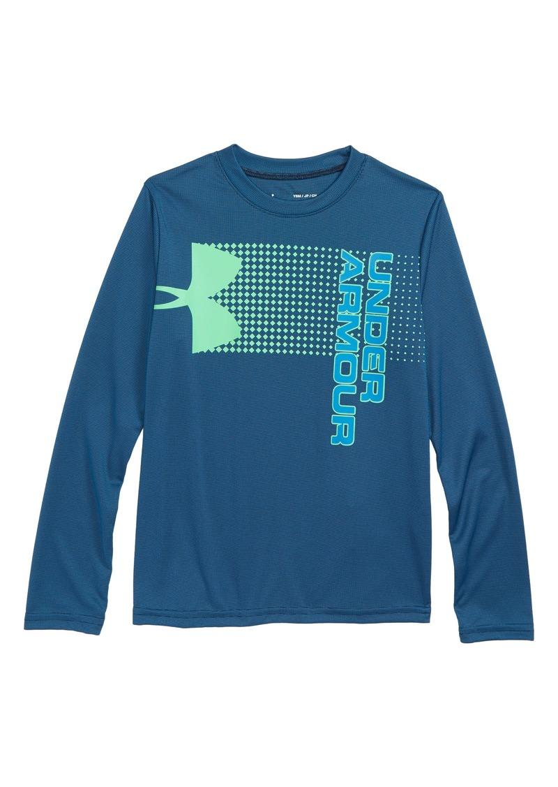 5c4bb457089b Under Armour Under Armour Crossfade HeatGear® Graphic Shirt (Big ...