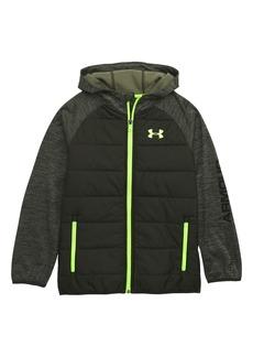 Under Armour Day Trekker Water Resistant ColdGear® Hooded Puffer Jacket (Big Boys)